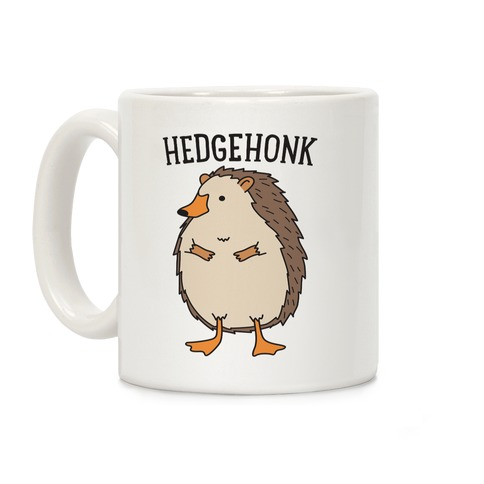 Hedgehonk (Hedgehog Goose) Coffee Mug