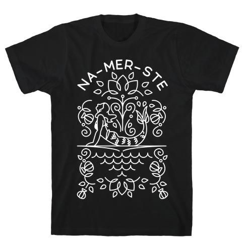 Na-Mer-Ste Mermaid Yoga T-Shirt
