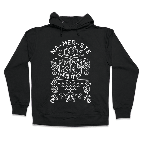 Na-Mer-Ste Mermaid Yoga Hooded Sweatshirt