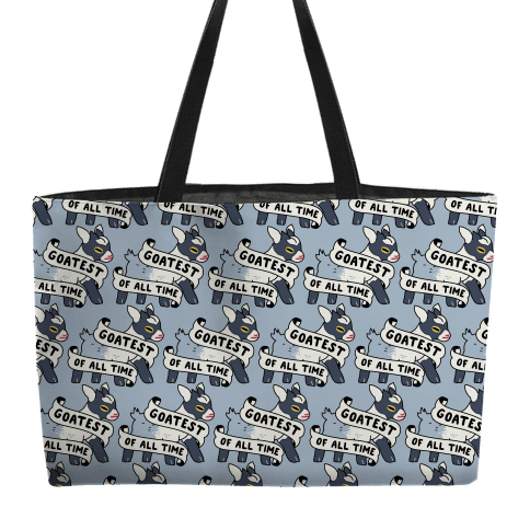 Goatest of All Time Weekender Tote