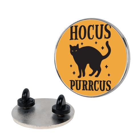 Hocus Purrcus Cat pin