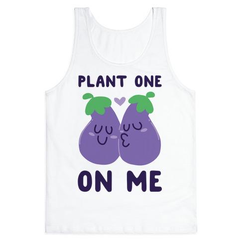 Plant One on Me - Eggplant Tank Top