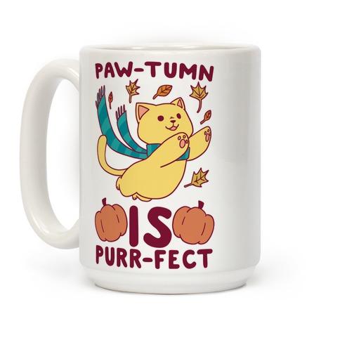 Paw-tumn is Purrfect Coffee Mug