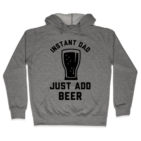 Instant Dad Hooded Sweatshirt