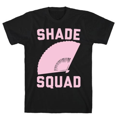 Shade Squad White Print T-Shirt