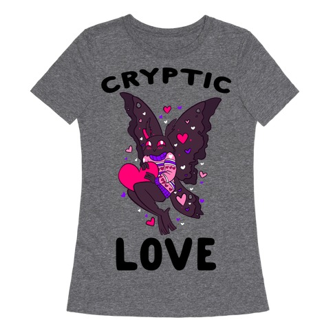 Cryptic Love Womens T-Shirt