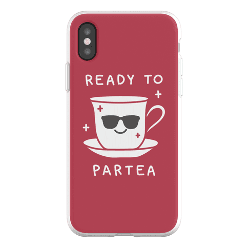 Ready To Partea Phone Flexi-Case