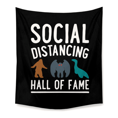 Social Distancing Hall of Fame Tapestry