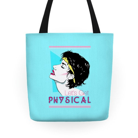 Let's Get Physical Tote
