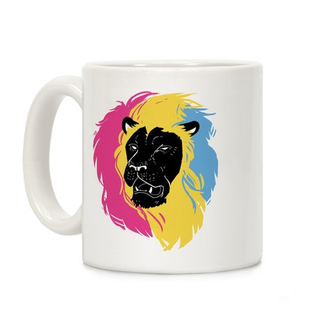 Pan Lion Pride Coffee Mug