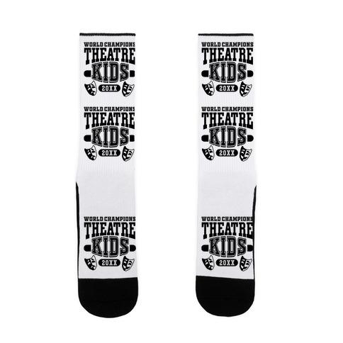 Theatre Kid Championship Sock