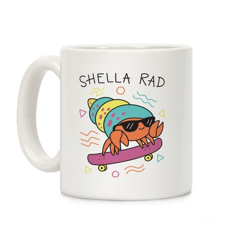 Shella Rad Crab Coffee Mug