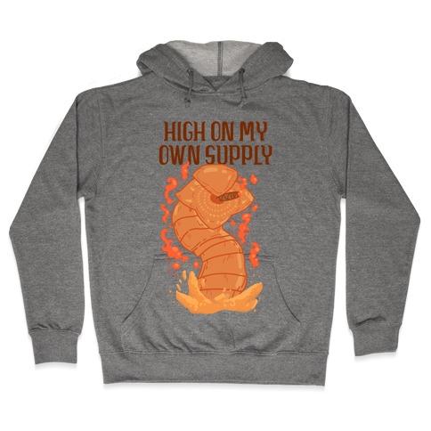 High On My Own Supply Sandworm Hooded Sweatshirt