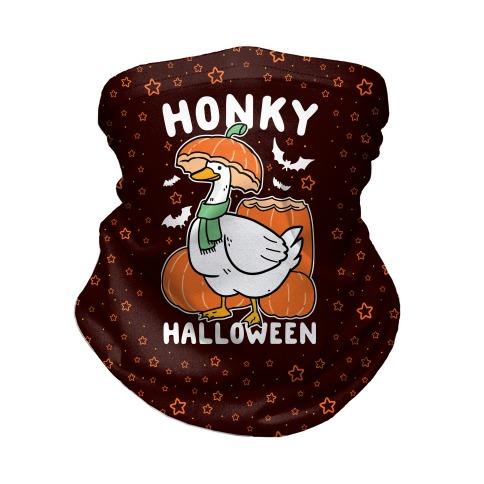 Honky Halloween Neck Gaiter