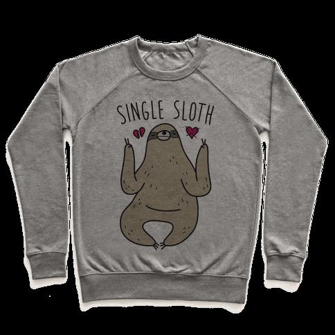 Single Sloth Pullover