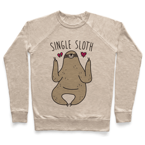 Single Sloth Pullover