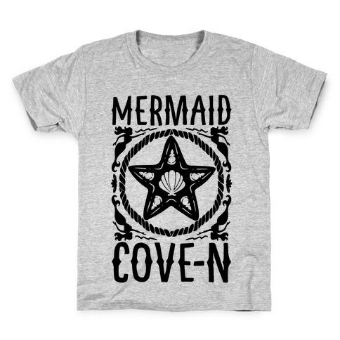 Mermaid Cove-n Kids T-Shirt