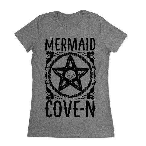 Mermaid Cove-n Womens T-Shirt