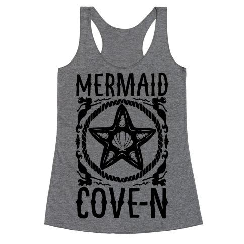 Mermaid Cove-n Racerback Tank Top