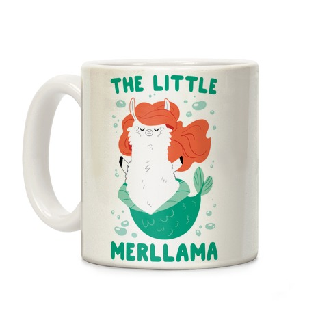 The Little Merllama Coffee Mug