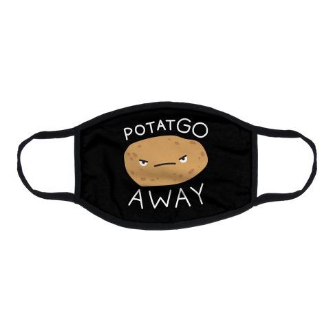 PotatGO AWAY Flat Face Mask