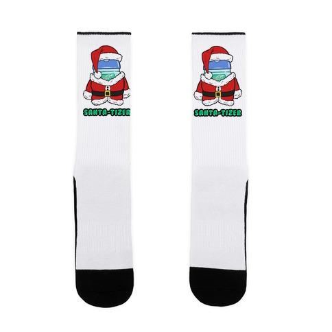 Santa-tizer Sock