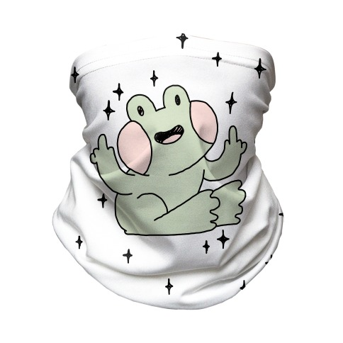 Flicky Frog Neck Gaiter