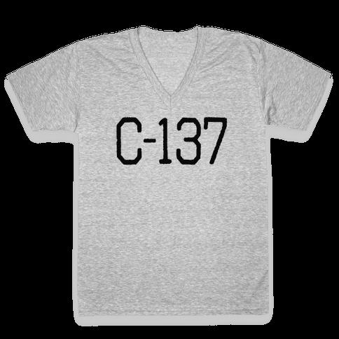 C-137 V-Neck Tee Shirt