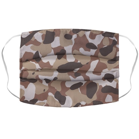 Camo Pattern Face Mask