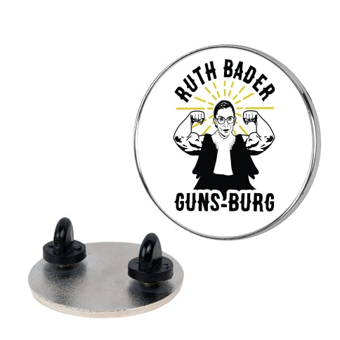 Ruth Bader Guns-Burg Pin