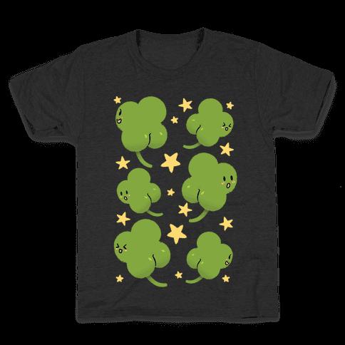 Shamrock Butts N' Stars Kids T-Shirt