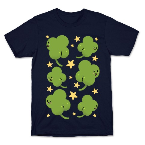 Shamrock Butts N' Stars T-Shirt