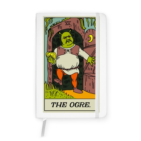 The Ogre Tarot Card Notebook