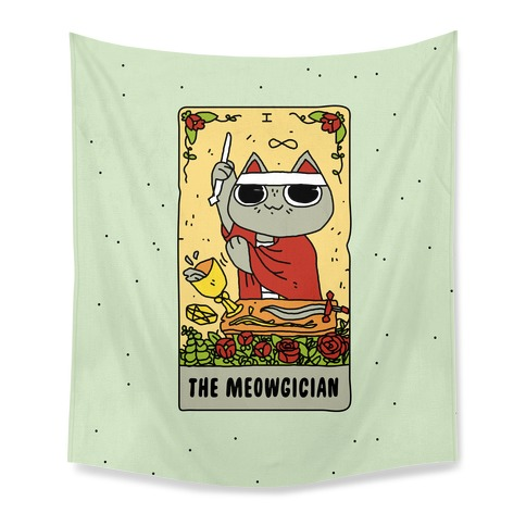 The Meowgician Tapestry