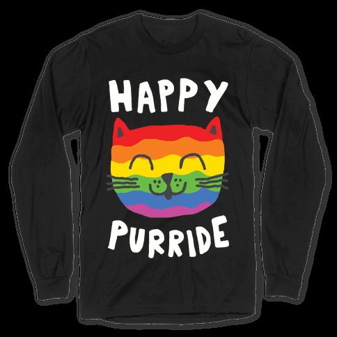 Happy Purride Long Sleeve T-Shirt