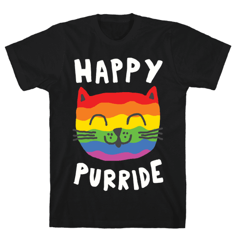 Happy Purride Mens T-Shirt