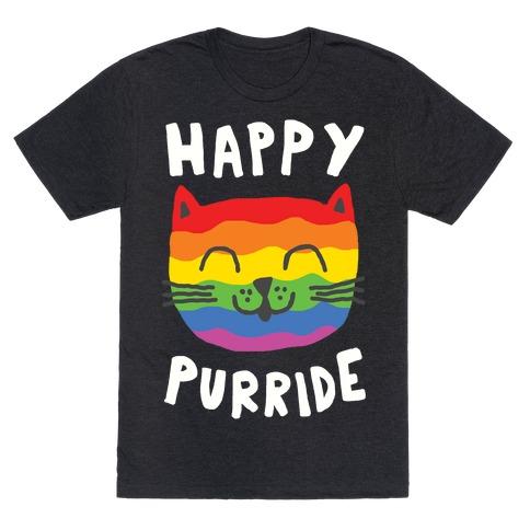 Happy Purride Mens T-Shirt