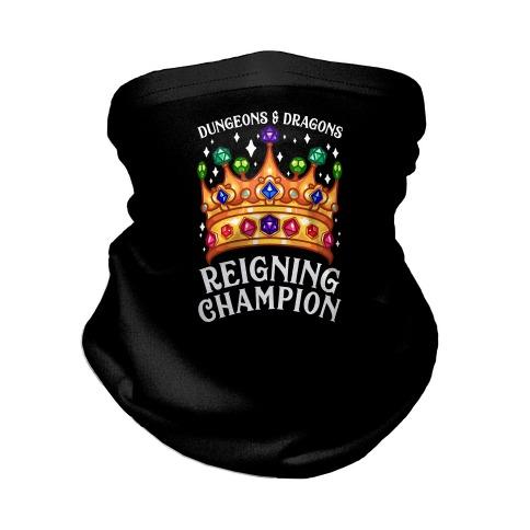 Dungeons & Dragons Reigning Champion Neck Gaiter