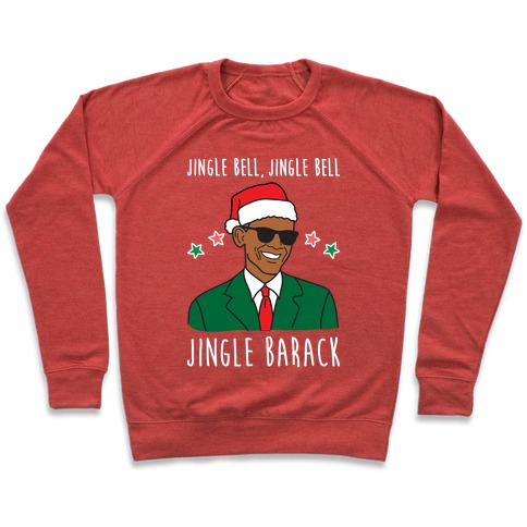 Jingle Barack Pullover