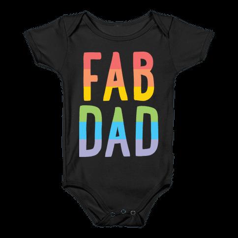 Fab Dad Baby Onesy