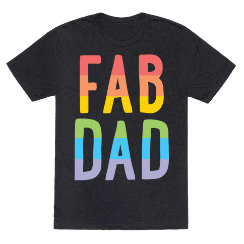 Fab Dad Mens T-Shirt