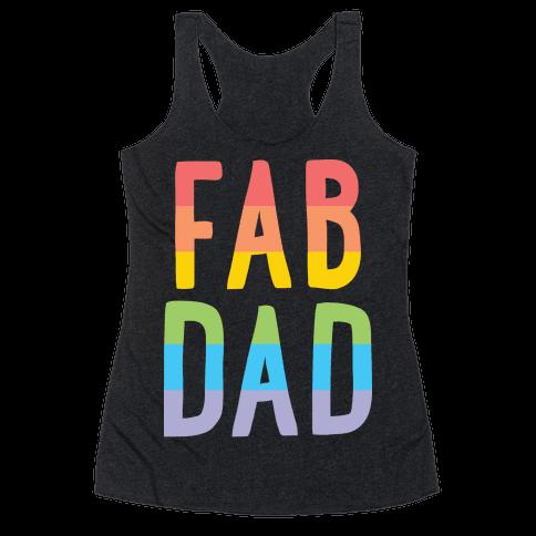Fab Dad Racerback Tank Top