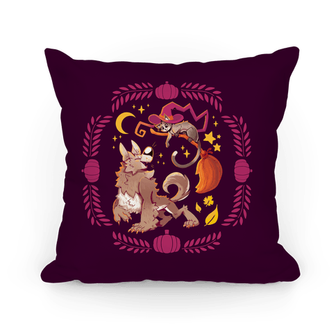 Wholesome Halloween Pillow