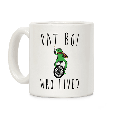 Dat Boi Who Lived Parody Coffee Mug