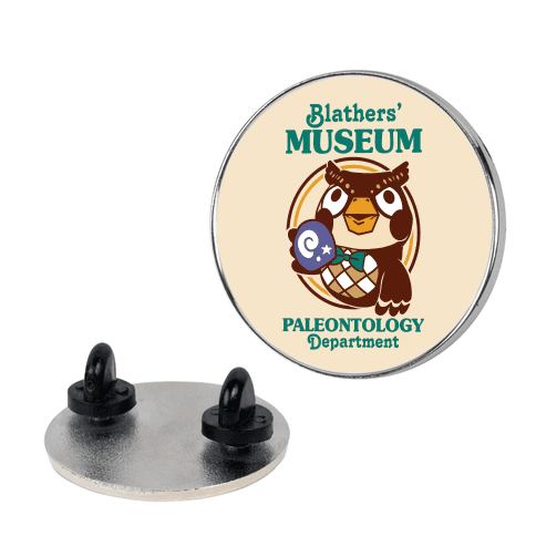Blathers' Museum Paleontology Department Pin