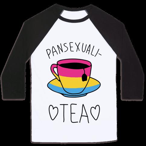 Pansexuali-TEA Baseball Tee