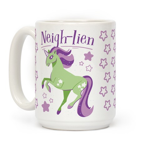 Neigh-lien Coffee Mug