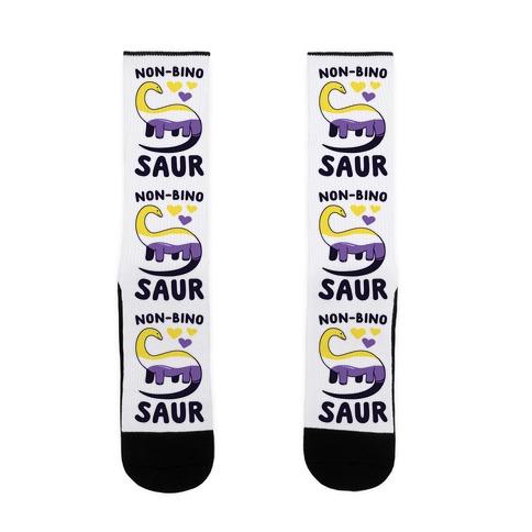 Non-bino-saur Sock