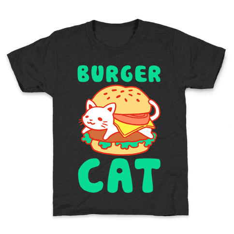 Burger Cat (Text)