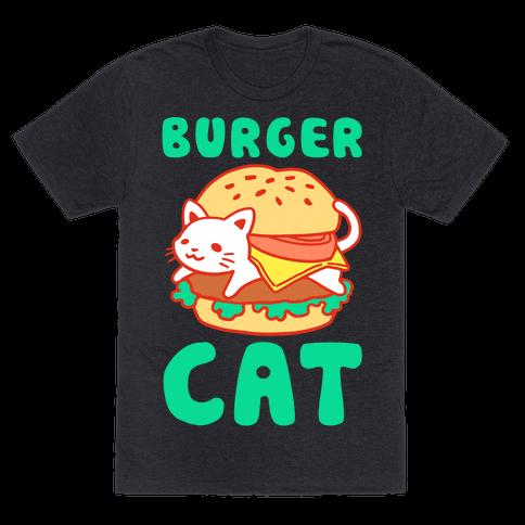 Burger Cat (Text)